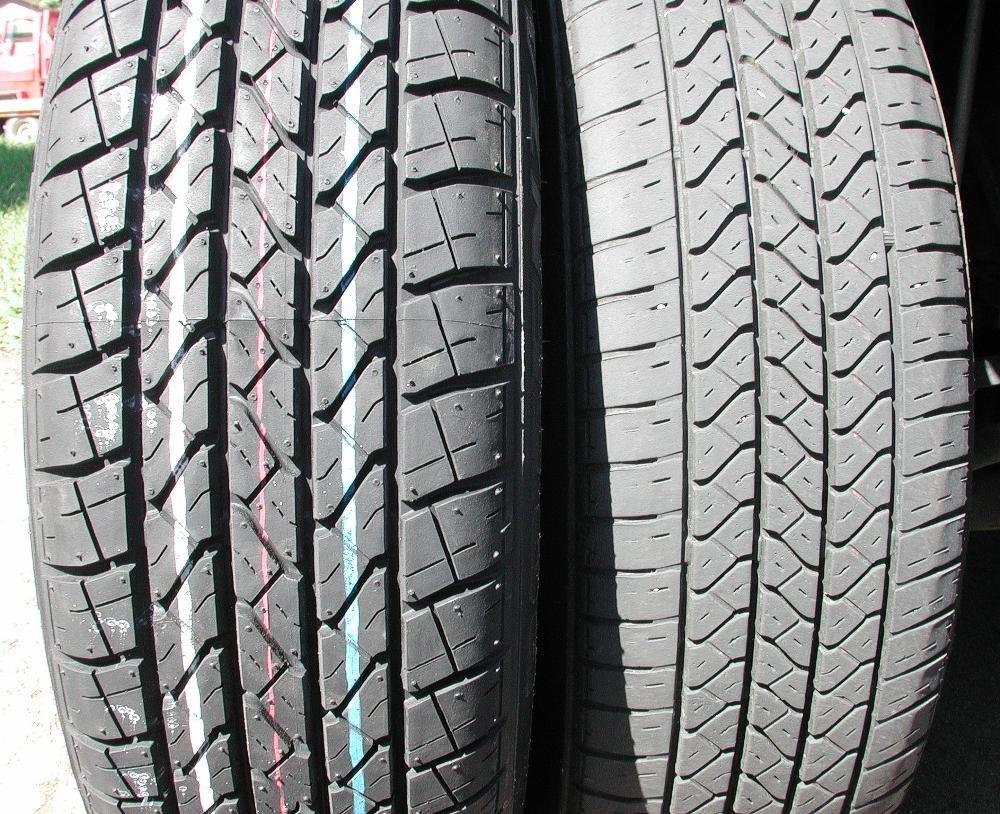 автомобильные шины - процент износа