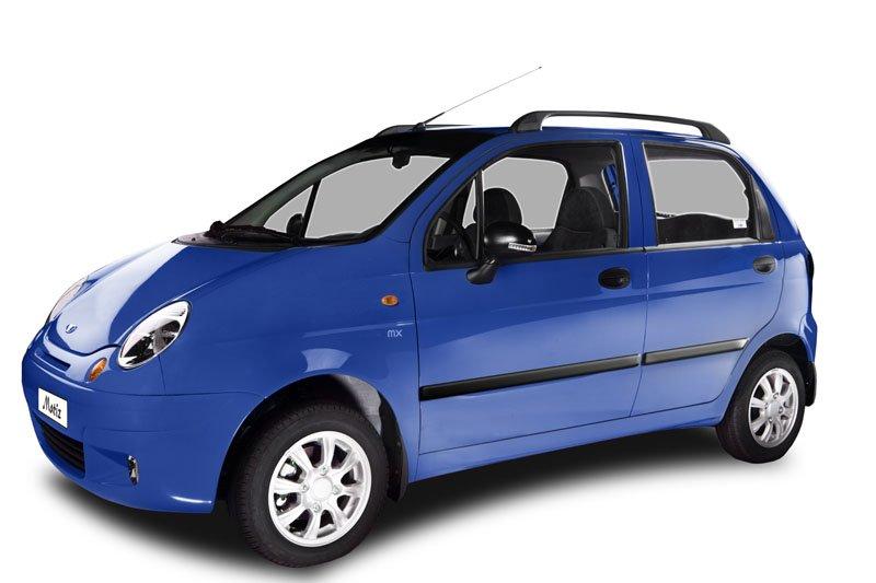 автомобиль Uz-Daewoo Matiz синего цвета