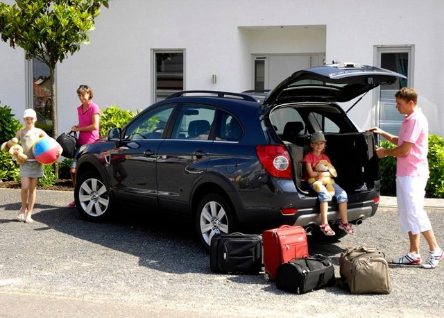 сбор в дальнюю поездку на автомобиле