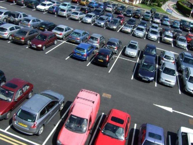 Платная парковка в столице