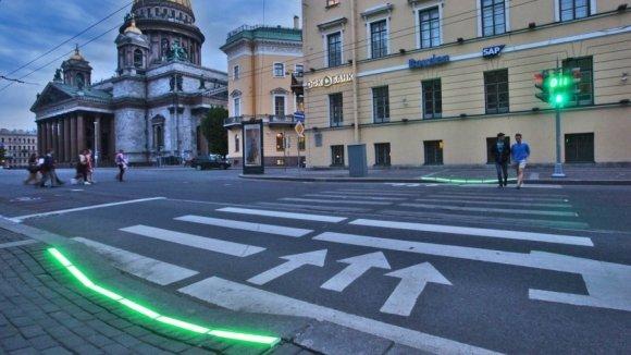 Наземные светофоры нового образца