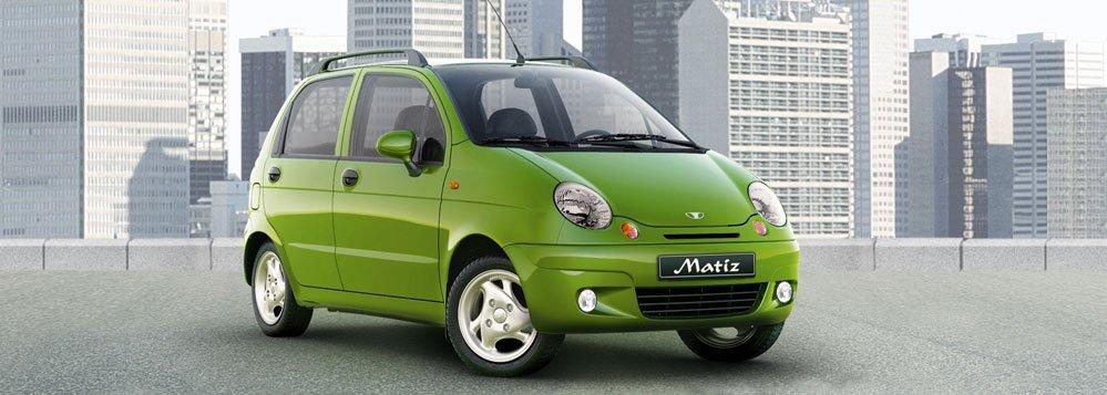 Испытанный Daewoo Matiz