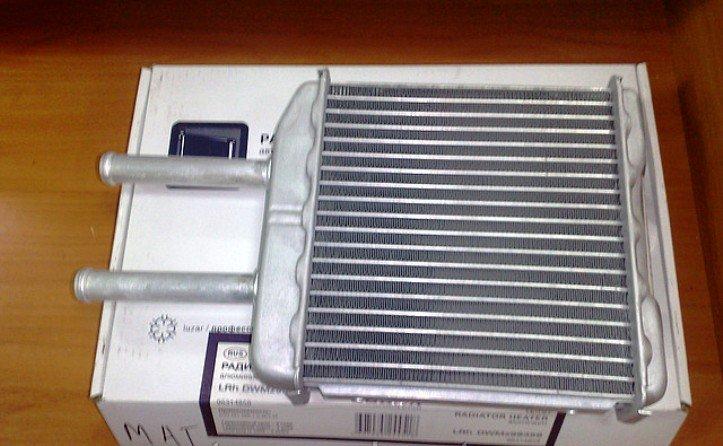 Меняем радиатор печки на Daewoo Matiz