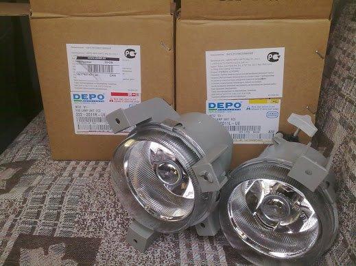 Противотуманные лампы в заводских упаковках