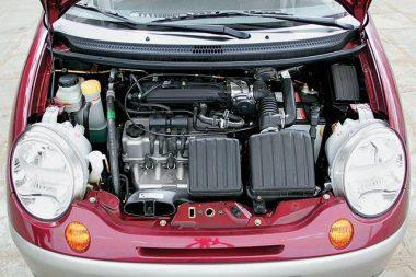 Двигатель Daewoo-Matiz